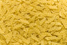 Background From Italian Raw Pasta Royalty Free Stock Image