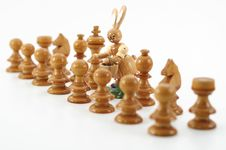 Free Chess And Easter Royalty Free Stock Image - 8544266