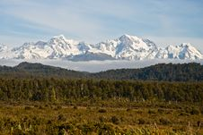 Free Mount Cook Range Royalty Free Stock Photo - 8545295