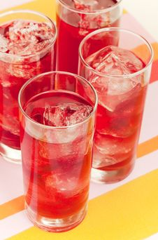 Free Red Beverage Stock Photo - 8545370