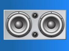 Free Large Loudspeaker Cabinet Royalty Free Stock Photos - 8545518