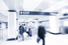 Free Subway Station. Royalty Free Stock Photography - 8545757
