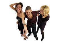 Free Disco People Stock Image - 8546861