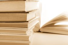 Free Stack Of Books Royalty Free Stock Image - 8547076