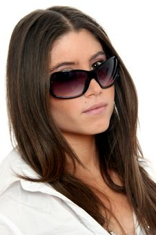 Free Fashion Model With Sunglasses Stock Photos - 8547213