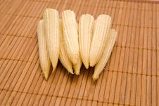 Baby Corn Royalty Free Stock Image