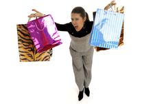 Shopping Fever Stock Images