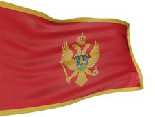 Free 3D Montenegro Flag Stock Photography - 8547422