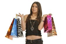Free Girl Shopping Stock Photo - 8547430