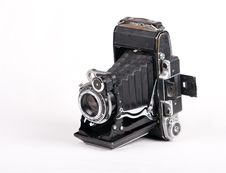 Free Vintage Photo Camera Stock Image - 8547561