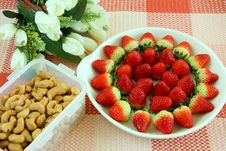Free Strawberry Nut Stock Images - 8547654