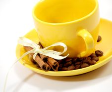 Free Cup, Coffee Grains Stock Photo - 8547660