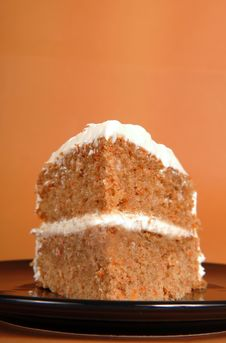 Free Carrot Cake Royalty Free Stock Photo - 8548375
