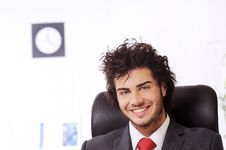 Free Businessman, Smiling And Looking In Camera Stock Photo - 8548940