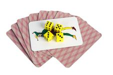 Free Cards And Joker Stock Photography - 8549522