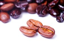 Free Coffee Beans Royalty Free Stock Photo - 8549585