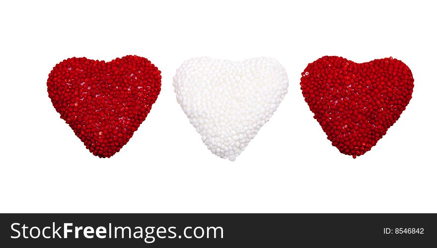 Valentine s hearts candy