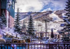 Free Snow Covered Resort Royalty Free Stock Images - 85404859