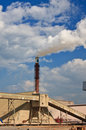 Free Smokestack Of The Plant Stock Images - 8552294