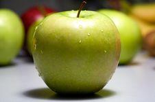 Free Apple Wet Stock Photo - 8550010