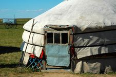 Free Yurt Royalty Free Stock Photos - 8550398