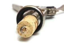 Free Corkscrew Close-up Stock Photography - 8550432