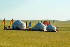 Free Yurt Royalty Free Stock Photo - 8550475