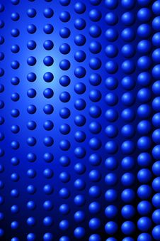 Free Blue Balls Stock Photography - 8550632