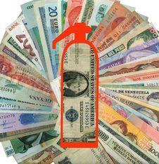 World Economic Crisis. Royalty Free Stock Image