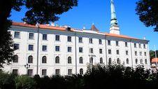 Riga Castle Stock Photo