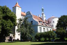 Riga Castle Stock Photos