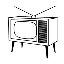 Free Old TV Stock Photo - 8551860