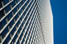 Skyscraper Face Stock Photo