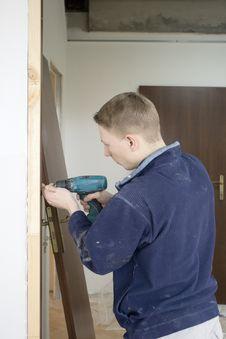 Free Installs Door Stock Photography - 8552072
