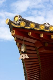 Free Chinese Temple Roof Stock Image - 8552161