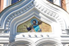 Detail Of The Orthodox Church Stock Image