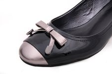 Free Black Female Shoe Royalty Free Stock Images - 8552269