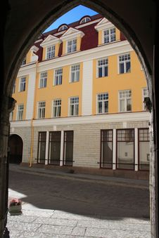 Upper City Of Tallinn Royalty Free Stock Photo