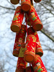 Free Chinese Lanterns Royalty Free Stock Photo - 8552825