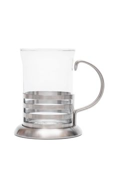 Free Glass Mug In Steel Frame Royalty Free Stock Photos - 8552828