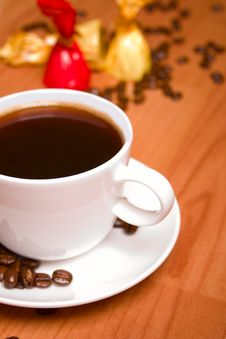 Free Cup Of Coffee Stock Photography - 8552862