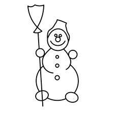 Free Snowman Royalty Free Stock Image - 8553136