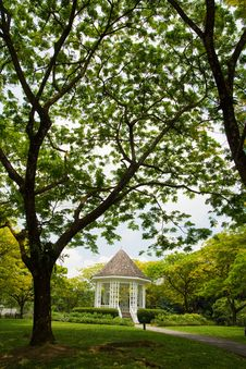 Free Pavilion And The Trees Stock Photo - 8553300