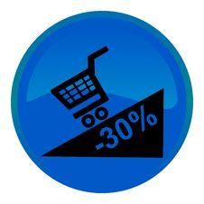 Free Promotion Web Button Stock Photos - 8554883