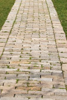 Free Stone Garden Path Stock Photography - 8555402