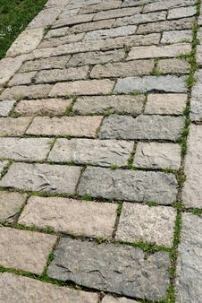 Free Stone Garden Path Royalty Free Stock Image - 8555716