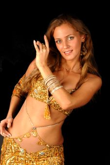 Free Bellydancer Royalty Free Stock Images - 8555949