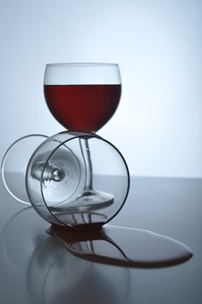 Free Wine Glass Royalty Free Stock Image - 8556756