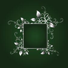 Free Silver Frame Royalty Free Stock Photo - 8557235