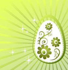 Free Green Easter Background Royalty Free Stock Photo - 8557275